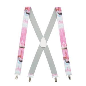 Suspender Store Mens Flamingo Suspenders