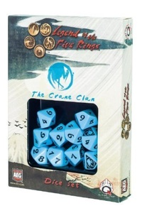 Legend of the Five Rings: AEG L5R Dice Set - Crane Clan (10) by Legend of the Five Rings