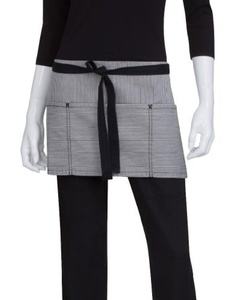 Chef Works AW050-BLK-0 Portland Waist Apron, Black by Chef Works