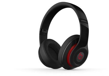 Sports Stereo Noise Isolating Studio 2.0 Wireless Bluetooth Over-Ear Headphones Black