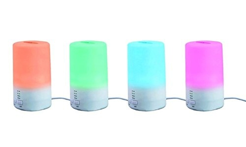 Monogram Inc 3-in-1 Ultrasonic Aroma Humidifier and Therapeutic Scent Diffuser ( Comes With 2 Free Scented Essential Oil