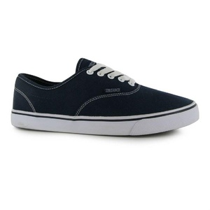 Mens SoulCal Sunset Lace Canvas Shoes Navy White (UK 10 / US 10.5)