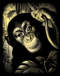 Reeves - Copperfoil Chimp by Reeves