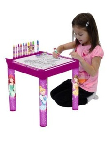 Colouring Table by New World Toys
