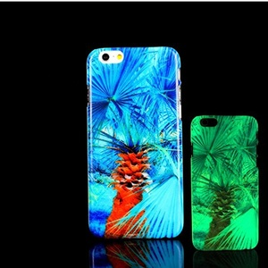 For iPhone 7 Plus Case, Glow in the Dark Palm Tree Hawaii Pattern TomCase Fluorescent Back Cover for iPhone 7 Plus Case 5.5 inch, P17