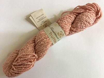 Knit One Crochet Too Truffles #243 K1C2 Antique Pink Rayon Boucle 50 Gram