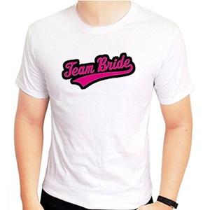 team bride for Medium White men T shirt