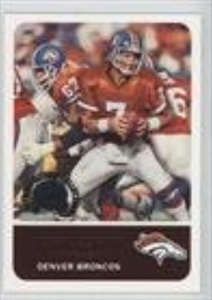 John Elway (Football Card) 2000 Fleer Greats of the Game Retrospection Collection #2 RC
