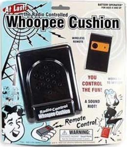Radio Control Whoopee Cushion - Fart Machine by fun