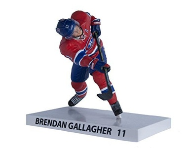 Premium Sports Artifacts Brendan Gallagher - NHL Montreal Canadiens Collectible Figure, 6'' by Premium Sports Artifacts