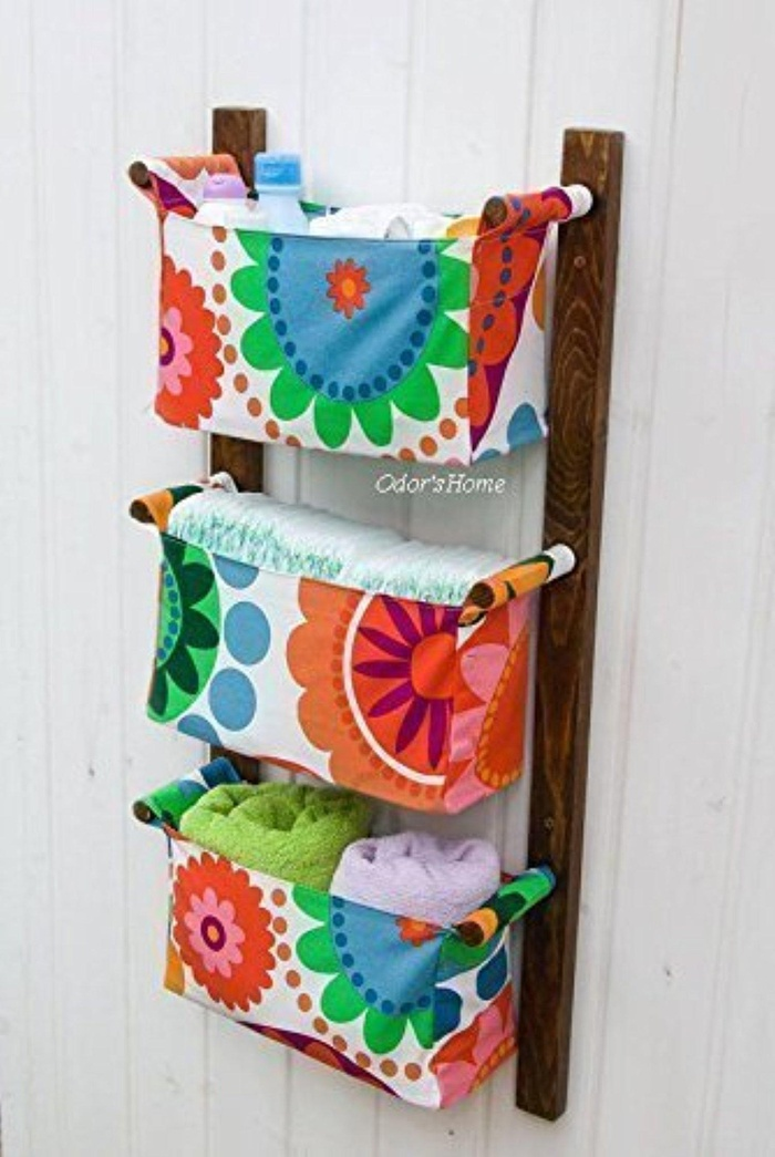 Online store diaper caddy wall hanging organizer for Baskets for kids room