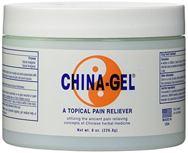 China Gel Topical Pain Reliever 8 oz Jar, Each by China Gel