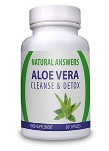 NATURAL ANSWERS ALOE VERA CLEANSE AND DETOX FOOD SUPPLEMENT 60 CAPSULES by Natural Answers
