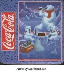Coca Cola 1,000 Piece Polar Bear Puzzle Tin by Coca-Cola