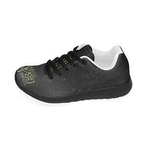 Cariben The Big Bang Theory Lightweight Running Shoes Sports Sneakers For Women And Girls,Black