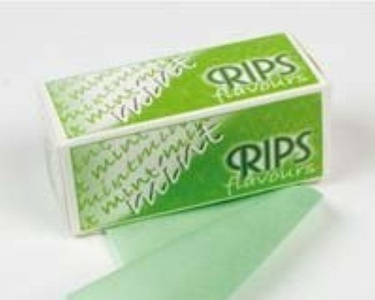Mint Flavour Rips Cigarette Rolling Paper x 3 Packets (Free Post & Packing) by RIPS