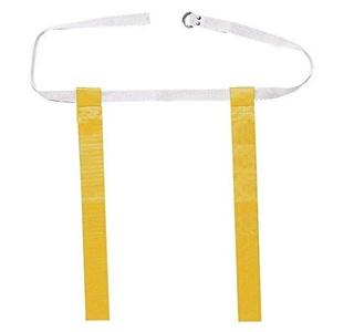 Flag Football Belts- Set of 6- Yellow/ Gold