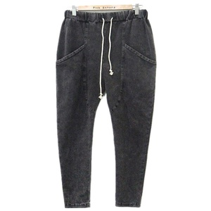 DaiLiwei XL-5XL Womens Plus Size Jeans High Waist Loose Washed Denim Harem Pants