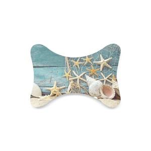 beach Custom Travel Pillow Bone Shape Car Neck Pillow Car Seat Neck Rest Cushion Sofe And Healthy