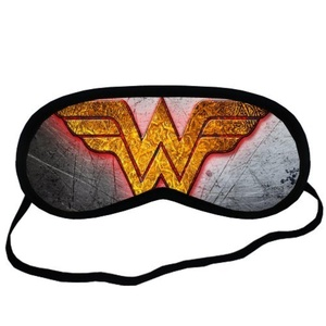 Custom Wonder Woman Sleeping Mask, Comfortable Soft Cotton Sleeping Aids Eye Mask Cover Travel & Work Rest