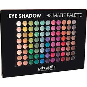Bebeautiful Eyeshadow 88 Shades Palette, Matte by bebeautiful