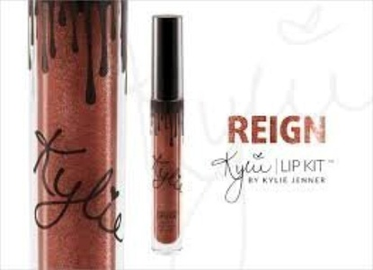 KYLIE COSMETICS BY KYLIE JENNER METAL MATTE LIPSTICK IN SHADE REIGN by Kylie