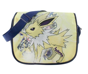 Anime Pokemon Pikachu Side Shoulder Crossbody Leisure School Bags