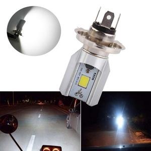 S&D H4 Led Motorcycle Headlight Bulbs COB Led 1000LM H/L Lamp Scooter ATV Moto Accessories Fog Lights 6000K Xenon White
