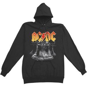 AC/DC Men's Hells Bells Hoodie Hooded Sweatshirt Large Black