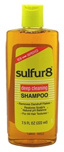 Sulfur-8 Medicated Shampoo 220 ml (Pack of 6) by Sulfur 8