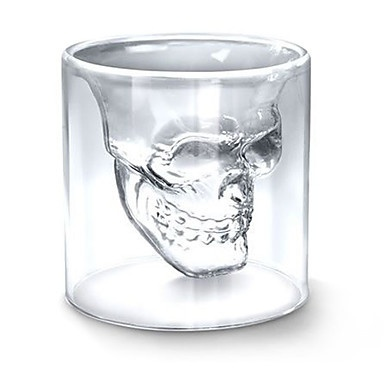 75ML Creative Skull Head Novelty Wine Shot Glass Cup