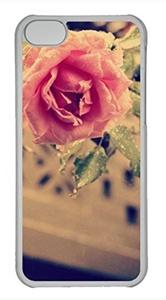 iPhone 5c case, Cute Pink Rose 10 iPhone 5c Cover, iPhone 5c Cases, Hard Clear iPhone 5c Covers