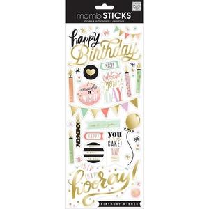 Me and My Big Ideas Sticker Birthday - Yay!