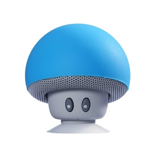 ICENN Bluetooth Speaker Wireless Mushroom with Built-in Mic + LED Romantic Night Light Hands Free for All Devices with USB 3.0--Green F-PC010 Blue