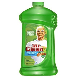 Mr. Clean with Gain Multi Surface Cleaner, Original Fresh Scent, 40 Ounce (Pack of 3) by Mr. Clean