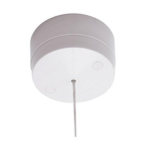 British General 6A 1-Way Pull Cord Switch White by British General