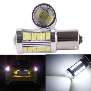 KATUR 2pcs 1156 BA15S 1141 7056 5630 33-SMD White 900 Lumens 8000K Super Bright LED Turn Tail Brake Stop Signal Light Lamp Bulb 12V 3.6W