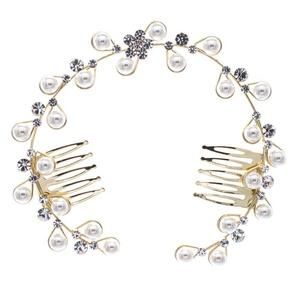 PROHAIR Romantic Austrian Crystal Dancer Bun Hair Comb Hairpins Headpiece Women's Girl Wedding Hair Accessories Gift