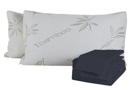 Bamboo Sleep Bamboo blend sheets and pillow Combo Deal