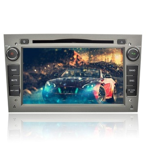 YINUO 7 inch Android 5.1.1 Lollipop Quad Core Car Stereo 2 Din HD 1024600 Touch Screen Car Radio Receiver DVD GPS Navigation for OPEL Vauxhall Astra Antara Vectra Corsa Zafira.Free Mic+8GB Map Card