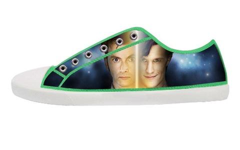 Movie Doctoc Who Men's Low Top Canvas Shoes-9M(US)