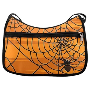 HomeWishes Halloween Oxford Fabric Cross Body Bag Shoulder Bag for Women And Girls