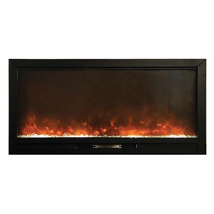 Yosemite Home Decor 50 in Built-in Electric Fireplace