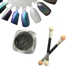 Nail Glitter Powder, Misaky 1g/ Box Laser Sliver Shinning Nail Mirror Powder Nail Art