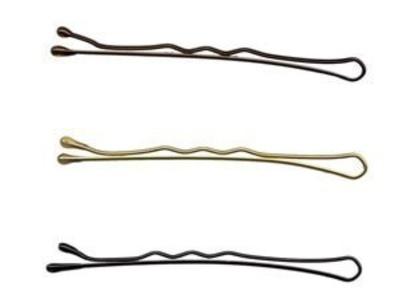 Hairtools Hairgrips 2 Black box of 500 by Hair Tools