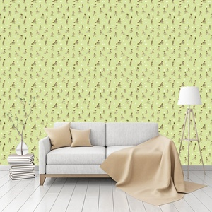A Walk In The Woods Patterned Commercial Textured Wallpaper by CustomWallpaper.com