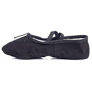 canvas dance shoes/ soft bottom shoes/Women's practice cat-claw shoes-G Foot length=22.8CM(9Inch)