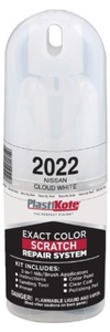 PlastiKote 2022 Nissan Cloud White Scratch Repair Kit with 2-in-1 Applicator Pen by PlastiKote
