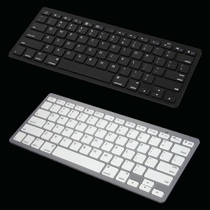 Ultra Thin Slim Bluetooth Universal Keyboard for all Apple iPads iPhones MAC iOS