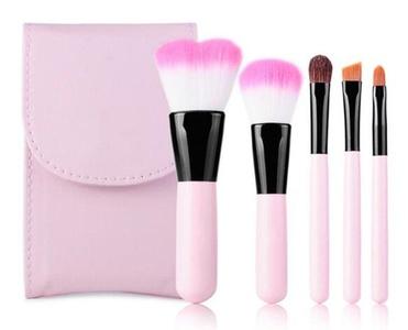 CINEEN 5Pcs Professional Makeup Brushes Set Make Up Kit Blusher Brushes Foundation Brushes Beauty Tool